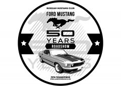 """Roadshow """"Ford Mustang 50 years"""""""