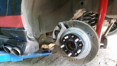35мм , новые аморты по кругу и диски новые