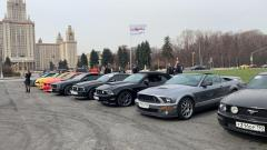 Ford Mustang & Russian Mustang Club Birthday